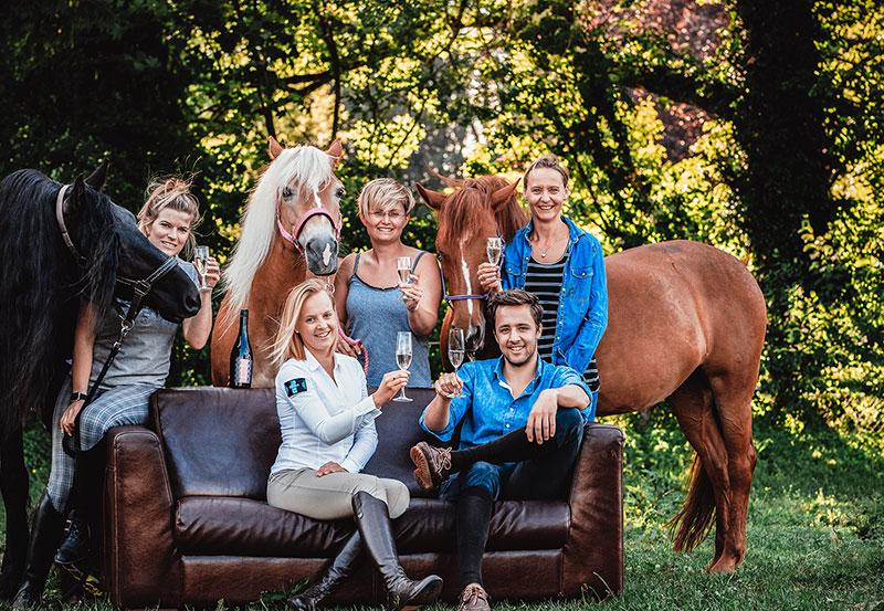 Stallparty - Pferdepflege aus Österreich - CXEVALO